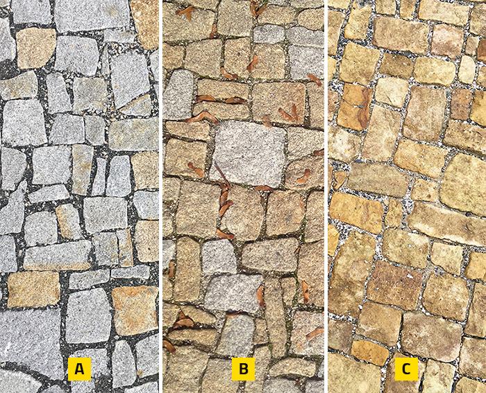 Druhy kamenných dlažeb